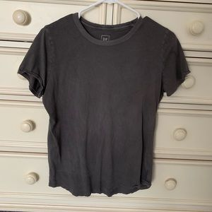 Gap Vintage Wash Gray Tee